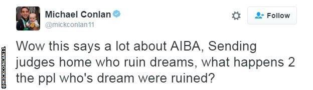 Michael Conlan Twitter ¿Espíritu Olímpico en Río 2016? Corrupción, Acusaciones de Soborno y Explotación, Mentiras...