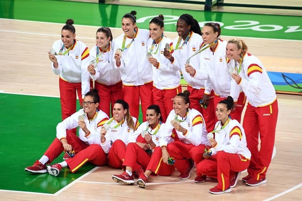 Baloncesto Femenino 17 medallas ganadas en Río 2016 por los deportistas españole
