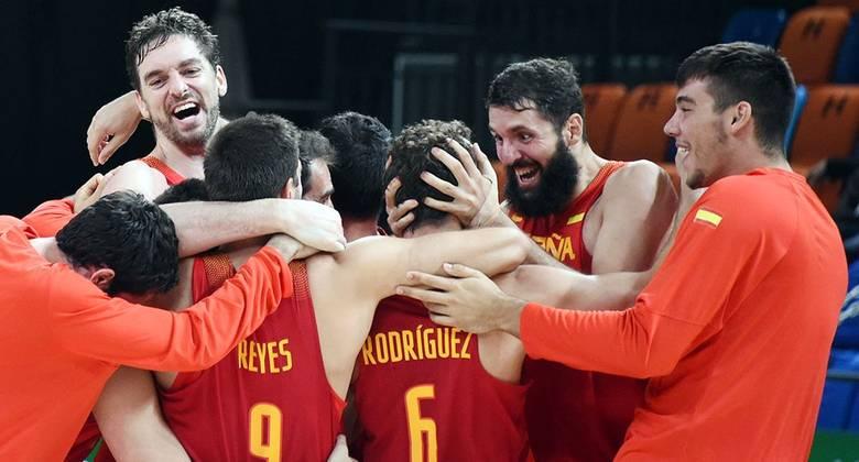 Baloncesto Masculino 17 medallas ganadas en Río 2016 por los deportistas españoles