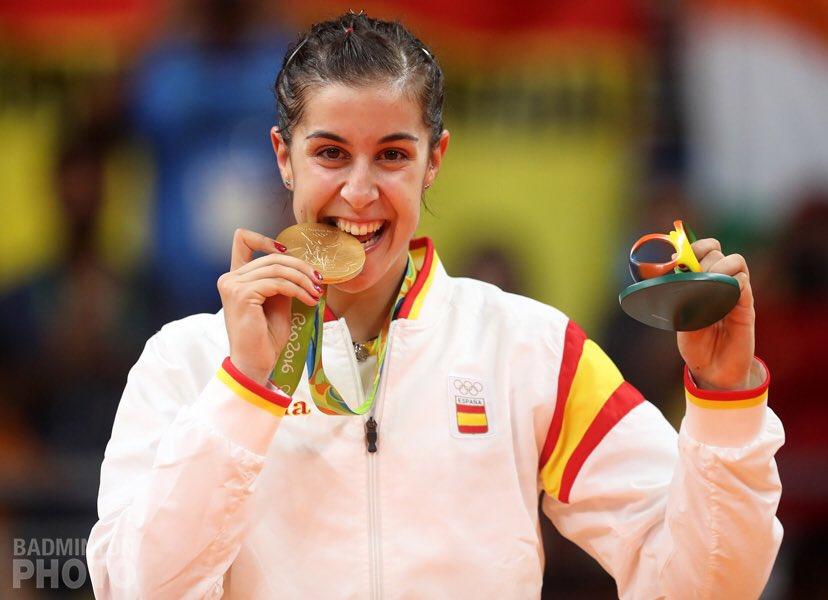 Carolina Marin 17 medallas ganadas en Río 2016 por los deportistas españoles
