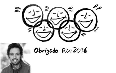 Los Juegos Olímpicos de Río 2016 visto por el artista brasileño André Gola