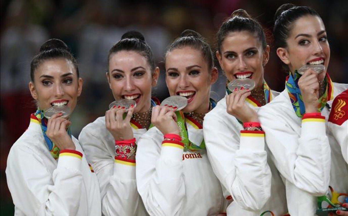 Gimnasia ritmica 17 medallas ganadas en Río 2016 por los deportistas españoles