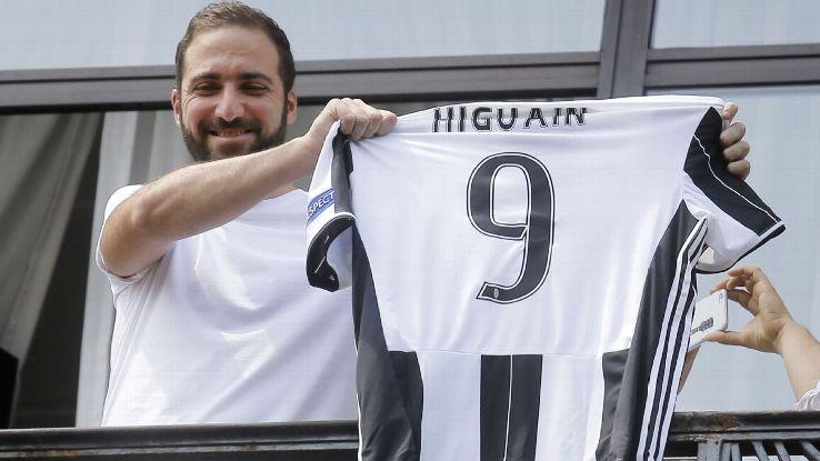 Gonzalo Higuain ¿Se ha vuelto loco el Mercado de fichajes de fútbol en los últimos años?