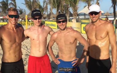 Vóley Playa, un deporte que atrae ¡Te lo mostramos!