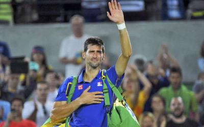 Novak Djokovic, lágrimas en la pista de tenis en Río 2016