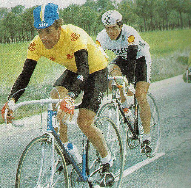 Pedro Delgado ganador de la Vuelta a España 1995 . Los últimos 21 ganadores de la Vuelta a España
