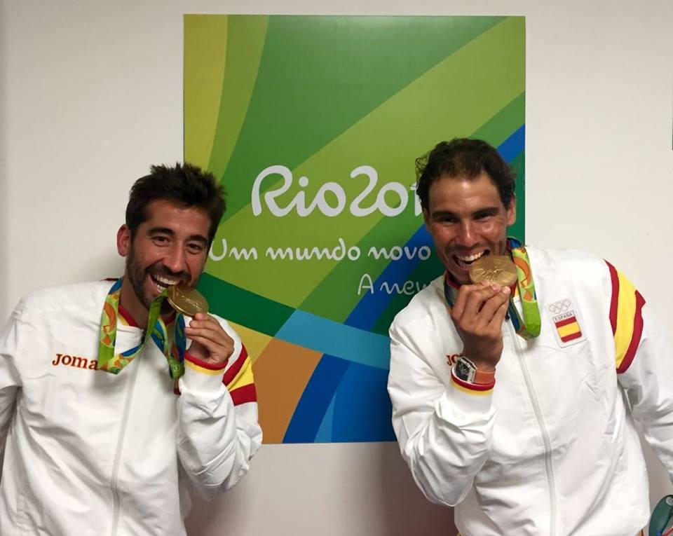 Rafa Nadal 17 medallas ganadas en Río 2016 por los deportistas españoles