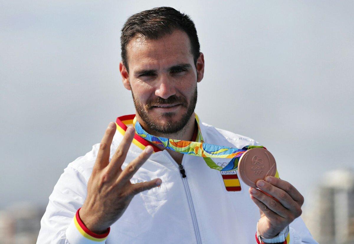 Saul Craviotto 17 medallas ganadas en Río 2016 por los deportistas españoles