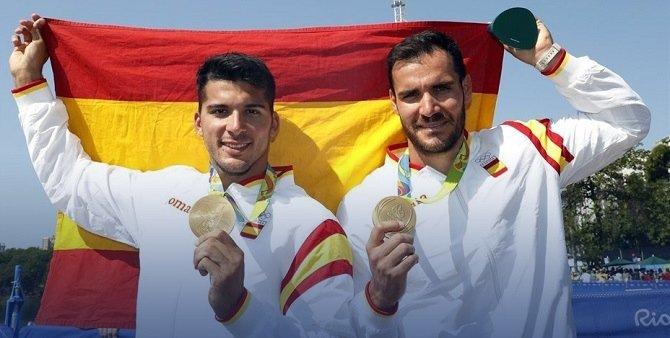 Saul Craviotto y Cristian Toro Las 17 medallas ganadas en Río 2016 por los deportistas españoles