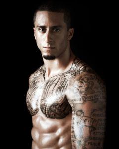 Colin Kaepernick Los tatuajes de los deportistas más sexis