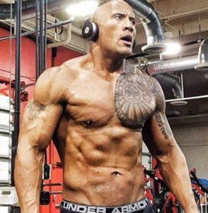 DWAYNE JOHNSON Los tatuajes de los deportistas más sexis