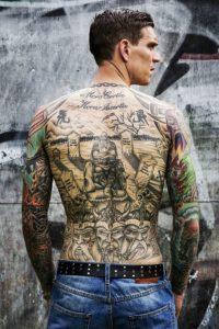 Daniel Agger Los tatuajes de los deportistas más sexis