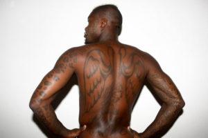 Djibril Cisse Los tatuajes de los deportistas más sexis