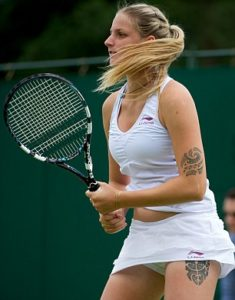 Karolina Pliskova Los tatuajes de los deportistas más sexis