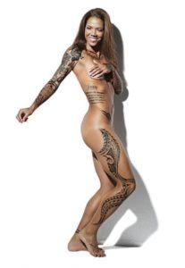 Natasha Kai Los tatuajes de los deportistas más sexis