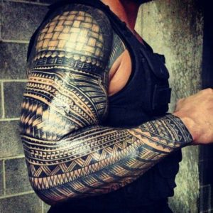 ROMAN REIGNS Los tatuajes de los deportistas más sexis