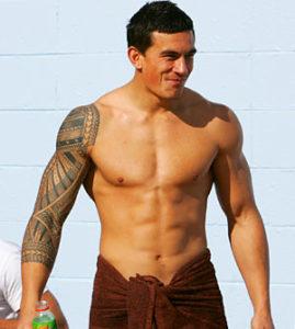Sonny Bill Williams Los tatuajes de los deportistas más sexis