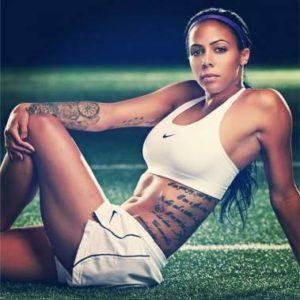 Sydney Rae Leroux Los tatuajes de los deportistas más sexis