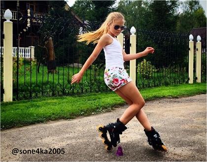 Elegancia y Perfección sobre Patines: Sofía Bogdanova