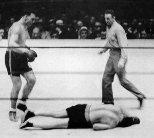 Primo Carnera noquea a Sharkey Campeones de los Pesos Pesados (I) : De Jack Dempsey a Joe Louis (1919-1949)