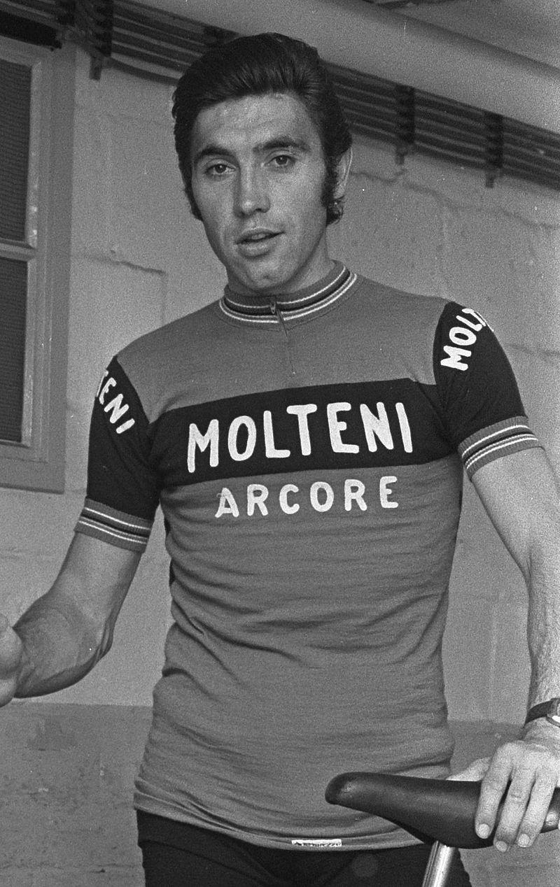 Eddy Merckx en 1973 Los 7 Mejores Ciclistas de la Historia del Tour de Francia