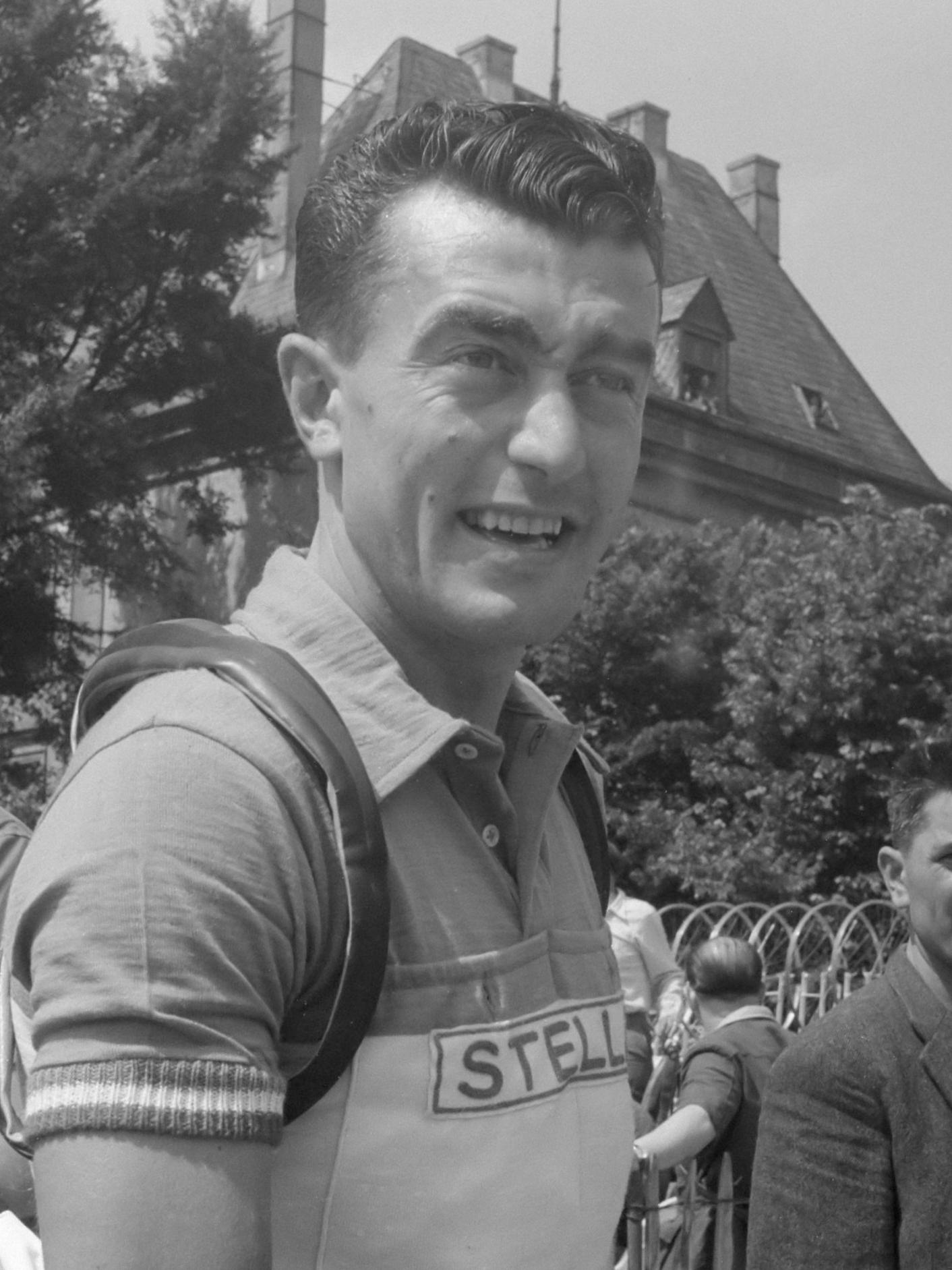 Louison Bobet durante el Tour de Francia de 1951 Los 7 Mejores Ciclistas de la Historia del Tour de Francia