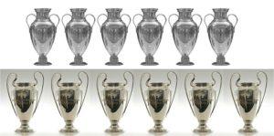 Las Copas del Real Madrid en 15 finales de Champions League