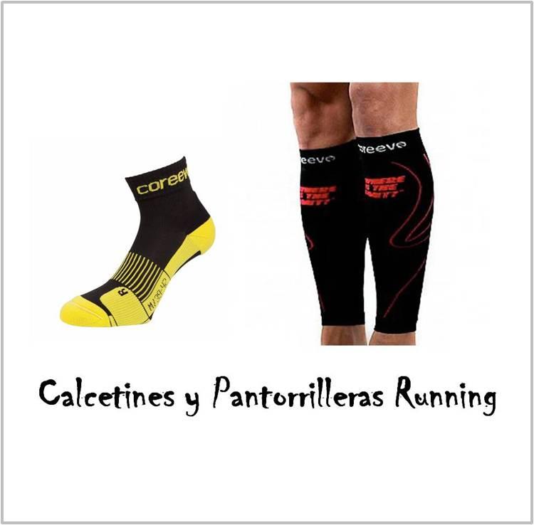 Tienda Online de Deportes Calcetines y Pantorrilleras Running y Trail running