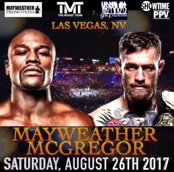 El combate Floyd Mayweather Jr. vs Conor McGregor : ¿El Combate del Siglo?