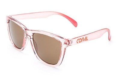Gafas Montura Tranparentes Rosadas Coral Sunglasses