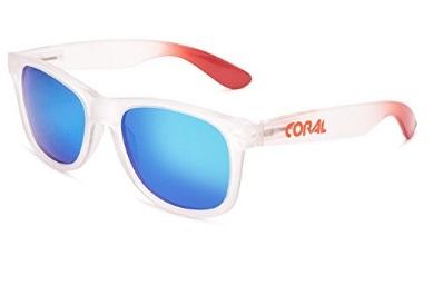 Gafas Polarizadas Blancas Coral Sunglasses
