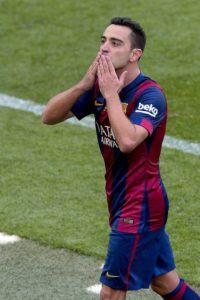 Ultimo partido de Xavi Hernández con el FC Barcelona, despedida de Xavi Hernández