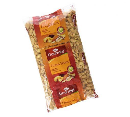 Cacahuete sin piel Frito y Salado 4 unidades - Paquete 1 kg cada una