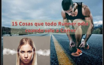 15 cosas que todo runner absolutamente odia cuando sale a correr