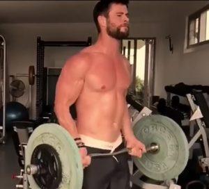 ¿Quieres ser Thor? El actor australiano Chris Hemsworth te da las claves