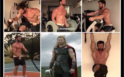 ¿Cómo conseguir el cuerpo de Thor? Chris Hemsworth te lo desvela