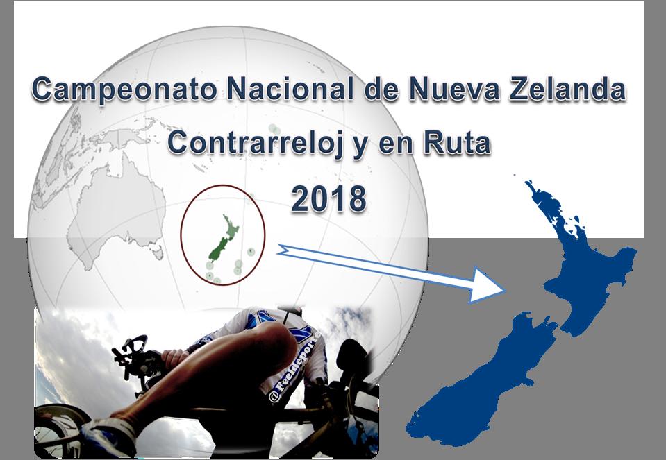 Campeonato Nacional de Nueva Zelanda Contrarreloj y en Ruta 2018