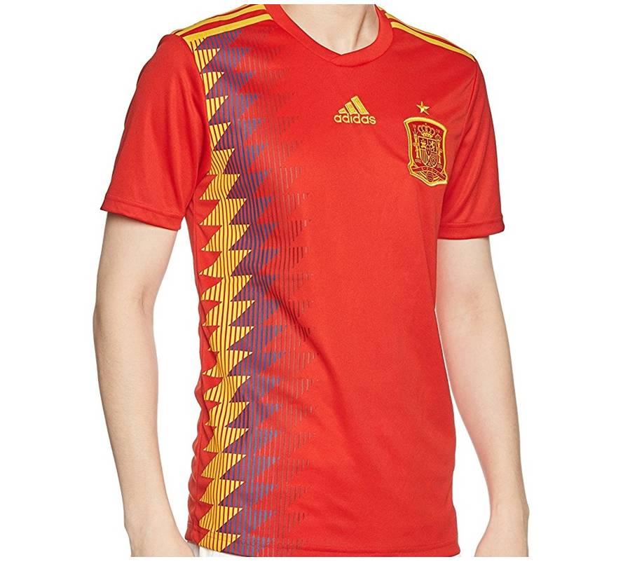 Camiseta Selección Española de Fútbol Mundial de Rusia 2018 Hombre, Tienda Online de Deportes de Feeldeporte