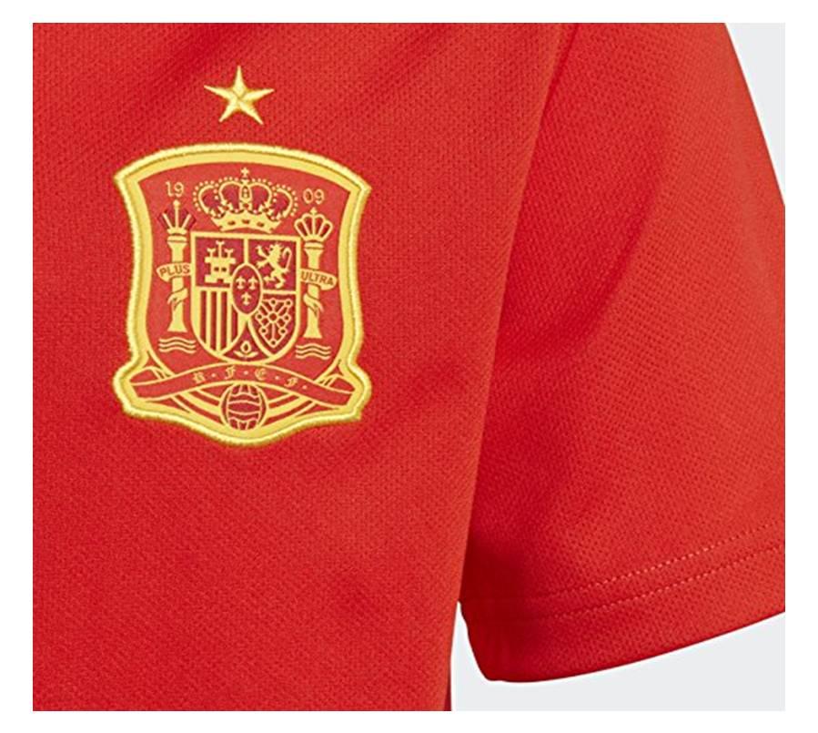 Camiseta Selección Española de Fútbol Mundial de Rusia 2018 Jóvenes y Niños. Tienda Online de Deportes de Feeldeporte