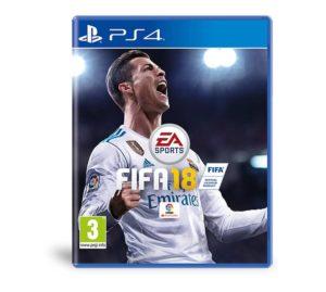 VideoJuego de Fútbol PlayStation 4 FIFA 18, Tienda Online de Deportes de Feeldeporte