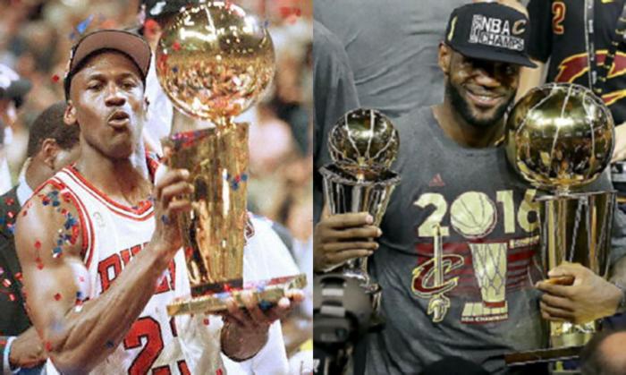 Michael Jordan vs Lebron James ¿Quién es el Mejor Jugador de la Historia  6f15756e1fb14